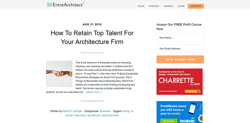 The Top 10 Blogs for Architects [2018] - Bizop Media AEC