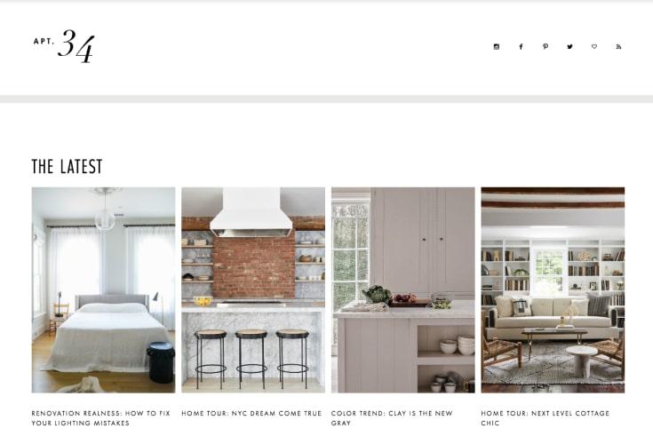 Apartment 34's blog