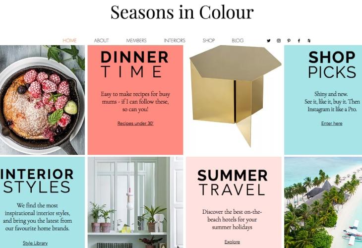 Seasons in Colour's blog
