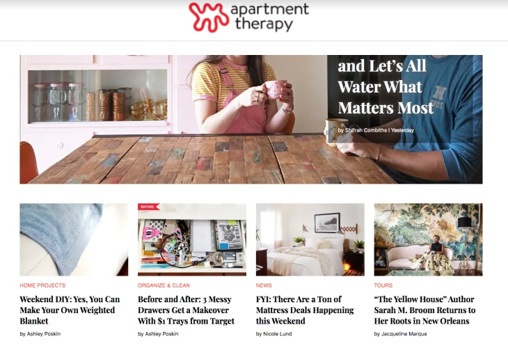 Apartment Therapy's blog