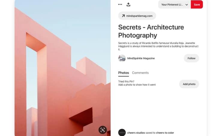 Secrets - Architecture Photography