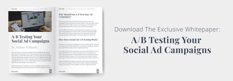 Whitepaper - AB Testing Your Social Ad Campaigns - DL Image
