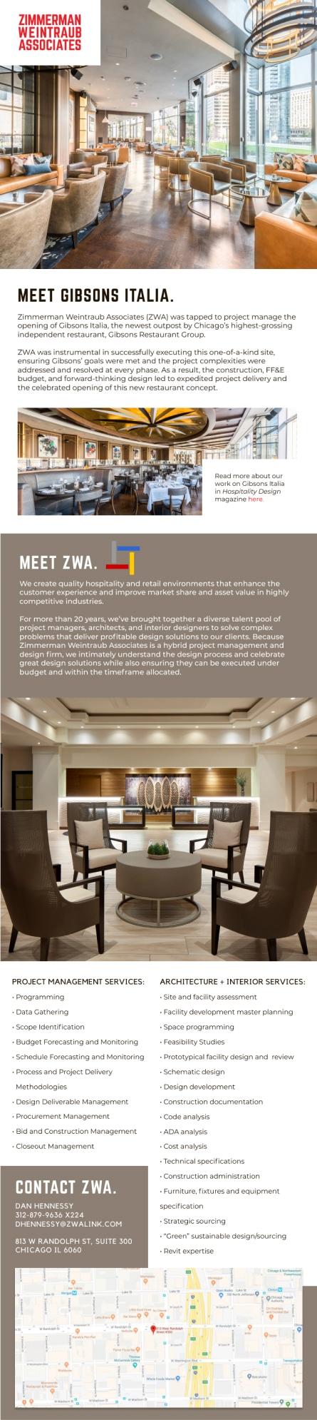 Zwa Interior Architectural Design Email Marketing Case Study